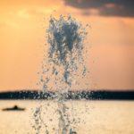 Wasserfontäne